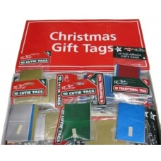 Gift Tags 72 packs of10 Plain Foil Asstd