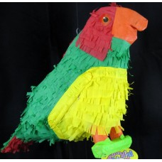 Pinata 3D design Bird Parrot Green/Red/Y