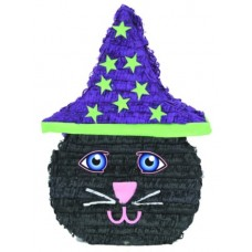 Pinata Animal Cat with Hat