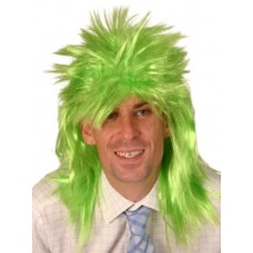Hair - Wig Punk Neon Green