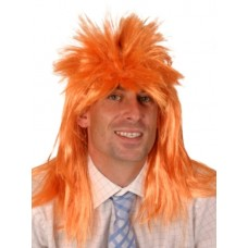Hair - Wig Punk Neon Orange