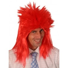 Hair - Wig Punk Neon Red