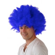 Hair - Wig Afro Blue