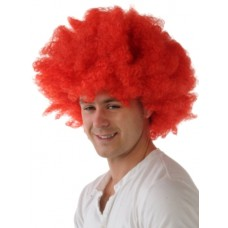 Hair - Wig Afro Red