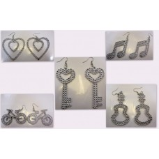 Earrings 5 Assorted Pairs 10's