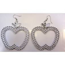 Earrings Pair of Apple