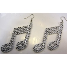 Party Accessory Earrings Pair of Musi