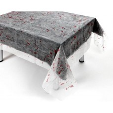 Decoration Table Cover Spiderweb with Bl