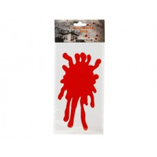 Blood Red Splodge for Window (Gelatine)