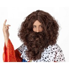 Hair Beard & Wig Brown