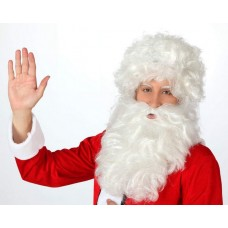 Hair Beard & Wig Santa White