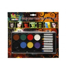 Face Paint Oil Base & Crayons 8 Colours