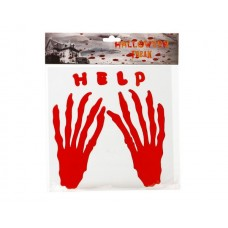 Blood Red Hands (Gelatin) 26x19cm