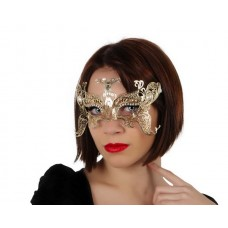 Mask Eye Golden Lazer cut