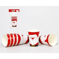 Christmas Party Cups 6cm PK 6