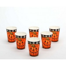 Halloween Party Cups 6 Paper