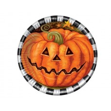 Halloween Party Plates 22cm 6s