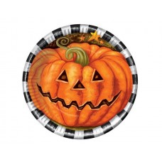 Halloween Party Plates 17cm 6s