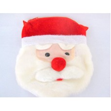 Santa Bag with Face Zipped long strap