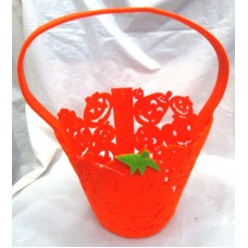 Basket Candy Collect Pumpkin Shape