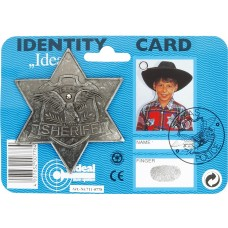 Western Badge - Sheriff Star Antique