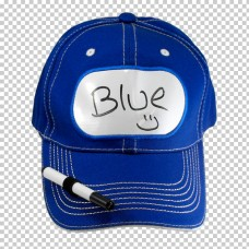 Billboard Cap Blue with Pen