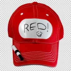 Billboard Cap Red with Pen