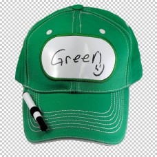 Billboard Cap Green with Pen