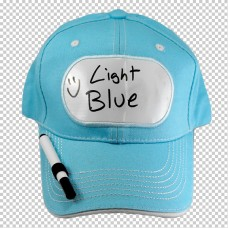 Billboard Cap Blue Light with Pen