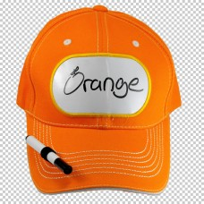 Billboard Cap Orange with Pen