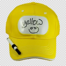 Cap Billy Bob Billboard Yellow with Pen