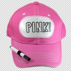 Billboard Cap Pink with Pen