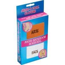 Arse & Face Cloths Avoid Bathroom Horror