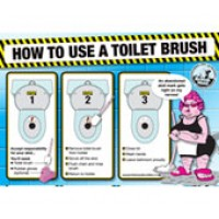 British Maid Guide to Using a Toilet Bru