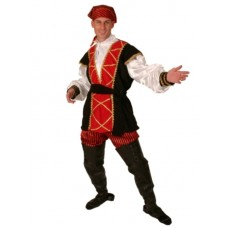 Costume Pirate Mates Suit 5 piece