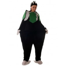 Costume Fat Christmas Pudding Suit & Hat