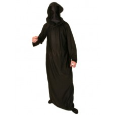 Robe & Hood Satin Black Face covered