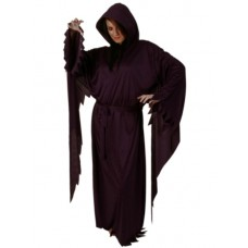 Robe & Hood Satin Long sleeved Purple