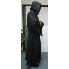 Robe & Hood Warrior Black Linen material