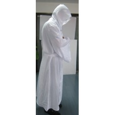 Robe & Hood Warrior White 100% Polyester