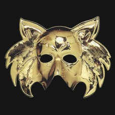 Mask Face Golden Cat shape