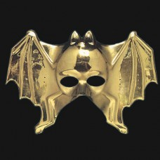 Mask Face Golden Bat shape