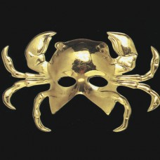 Mask Face Golden Crab shape
