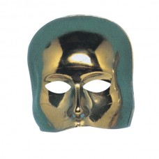 Mask Half Face Theatre Gold