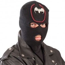 Balaclava Black Halloween with Bat