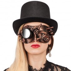 Mask Eye Steampunk Copper