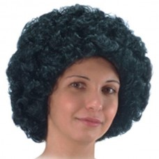 Hair - Wig Afro Black in Poly Bag