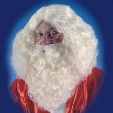 Hair Beard & Wig Santa Natural 35cm
