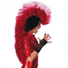 Hair Punk Devil Wig Red in Box