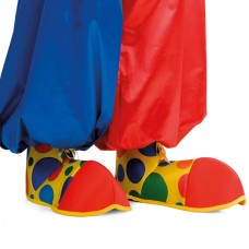 Shoe Covers Clown Fabric Adult size